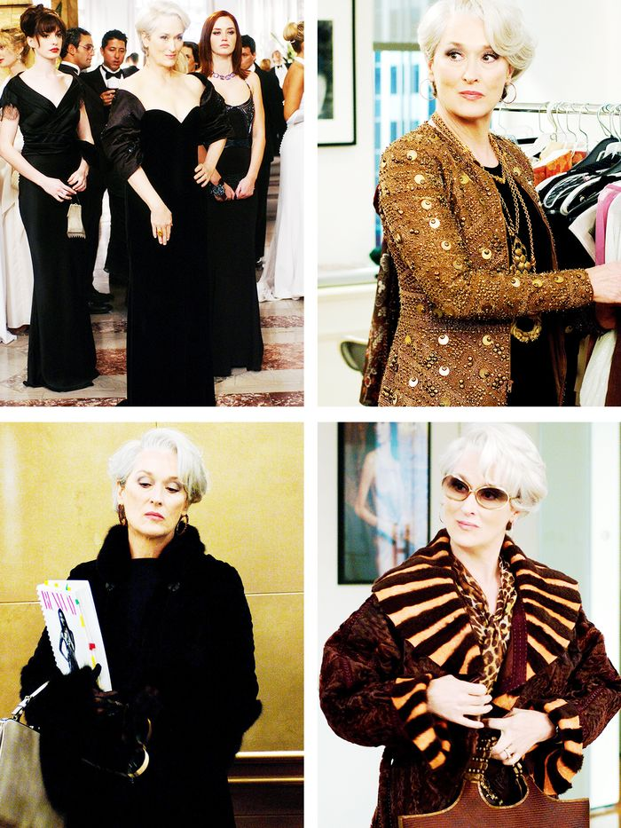 Fashion editors in movies: Miranda Priestly from The Devil Wears Prada