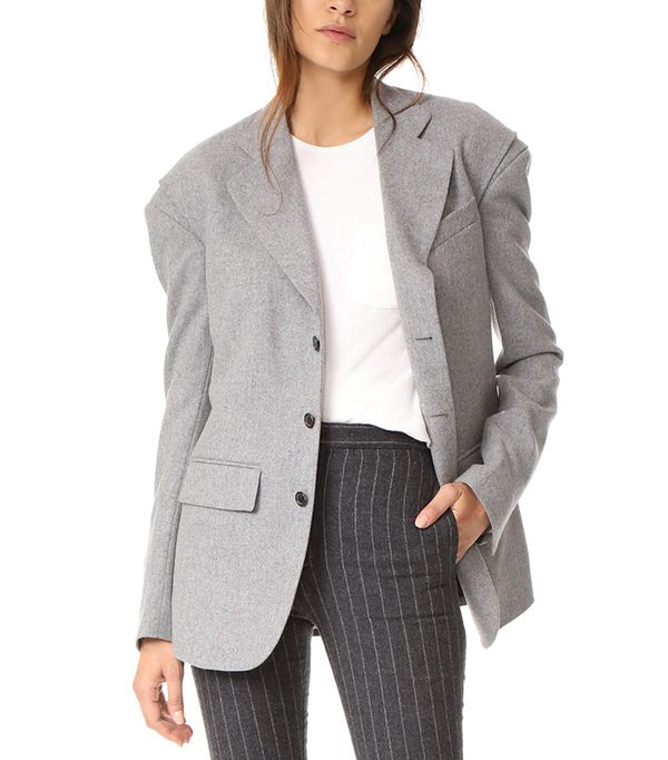 long r13 Blazer with Gusset