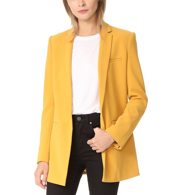 long Boyfriend Blazer