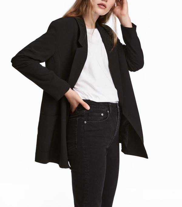 long blazer H&M
