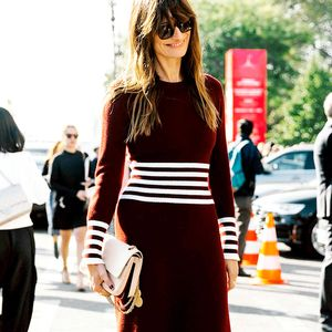 A Surprising Trick for Wearing Fall Dresses With Boots