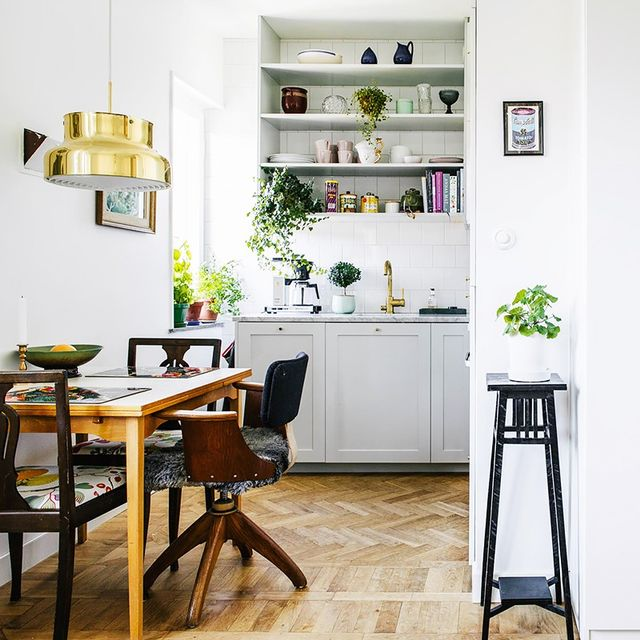 This Swedish Apartment Is a Lesson in Small-Space Styling