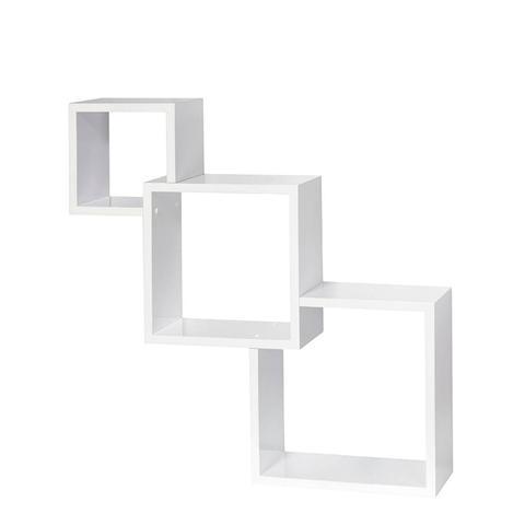 Cascade Floating Boxes Wall Shelf