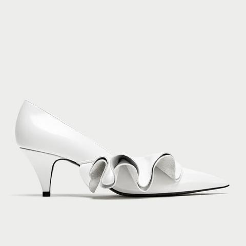 Ruffled Heels