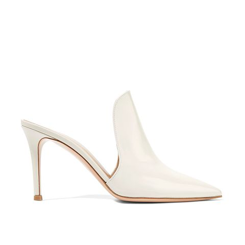 Aramis Patent-Leather Mules
