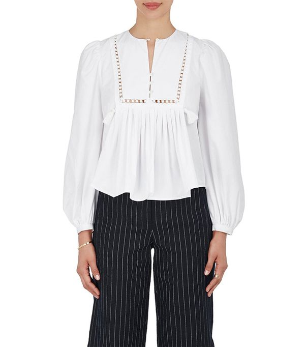 Women's Everly Cotton Blouse