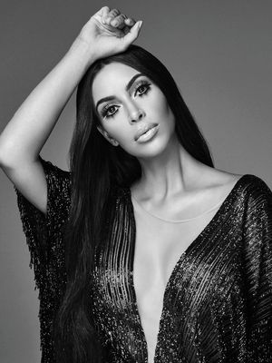 Kim Kardashian West Transforms Into Her #1 Style Icon in This New Shoot