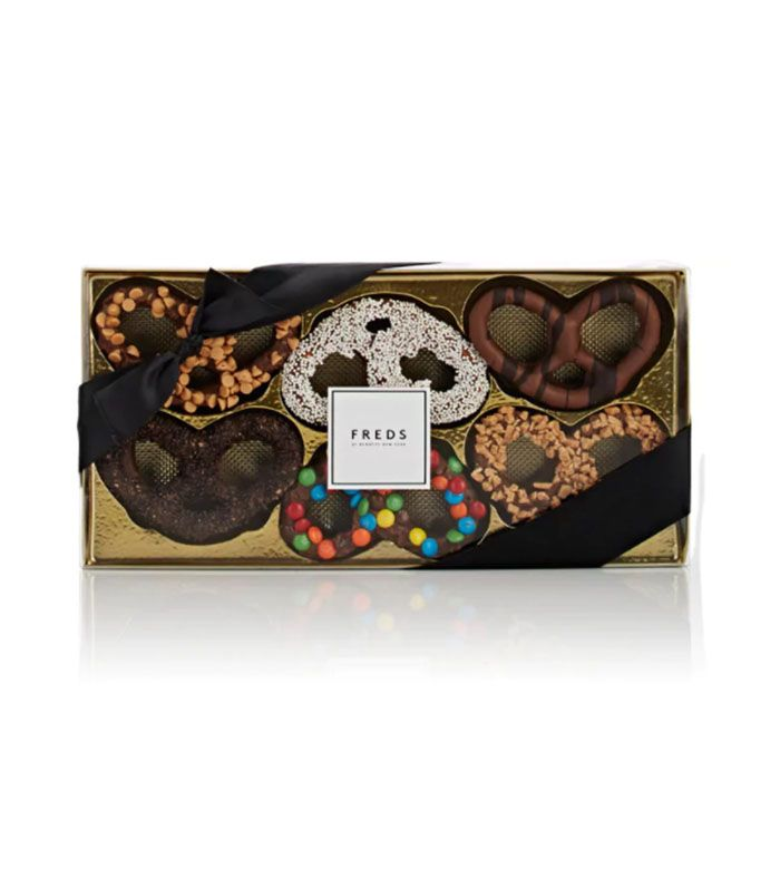 Decorated Chocolate-Covered Pretzels by Freds at Barneys New York