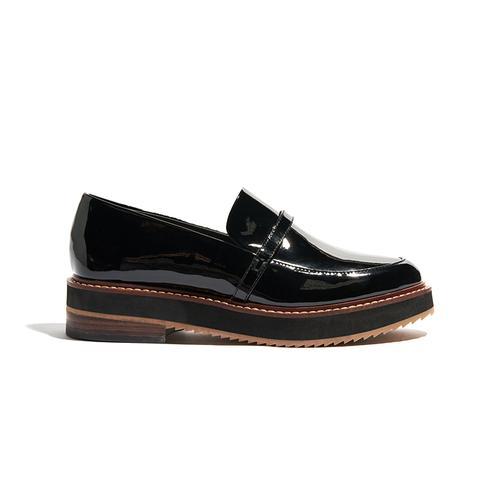 Justine Patent Platform Loafers