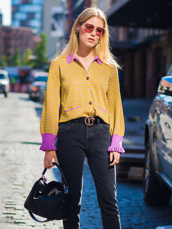 Wearing Yellow for Spring 2017