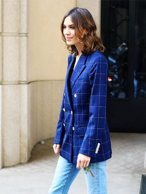 Alexa Chung's New Jeans Will Make Your Legs Look Twice as Long