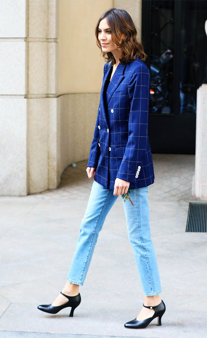 Alexa Chung jeans