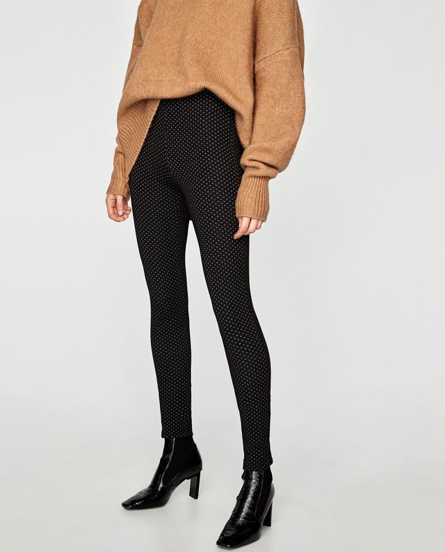 Zara Micro Jacquard Leggings