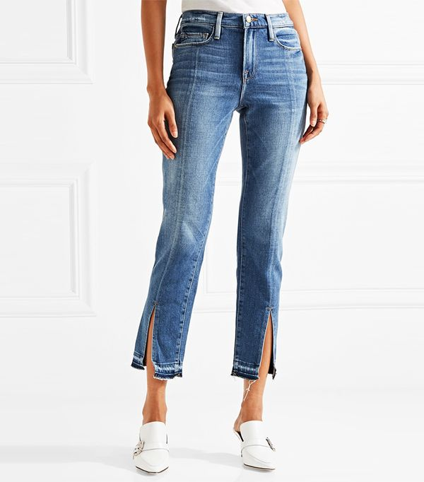 How To Style Cropped Flare Jeans Whowhatwear