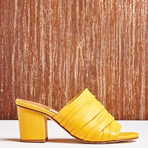 Charlize Yellow Sandals