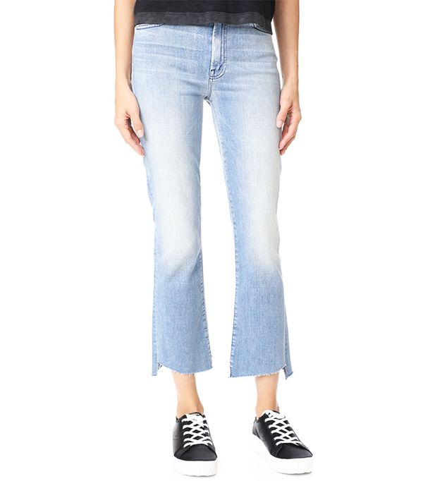 Insider Crop Two Step Fray Jeans