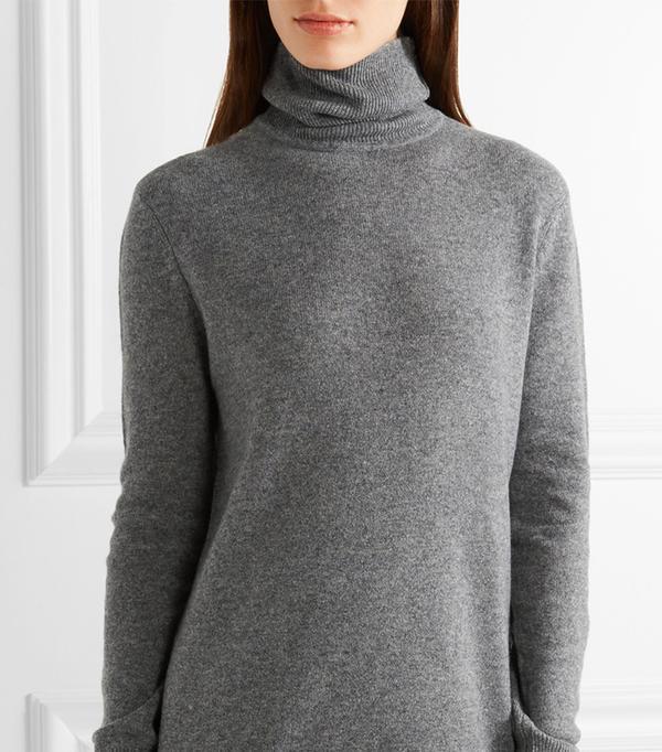 Oscar Cashmere Turtleneck Sweater