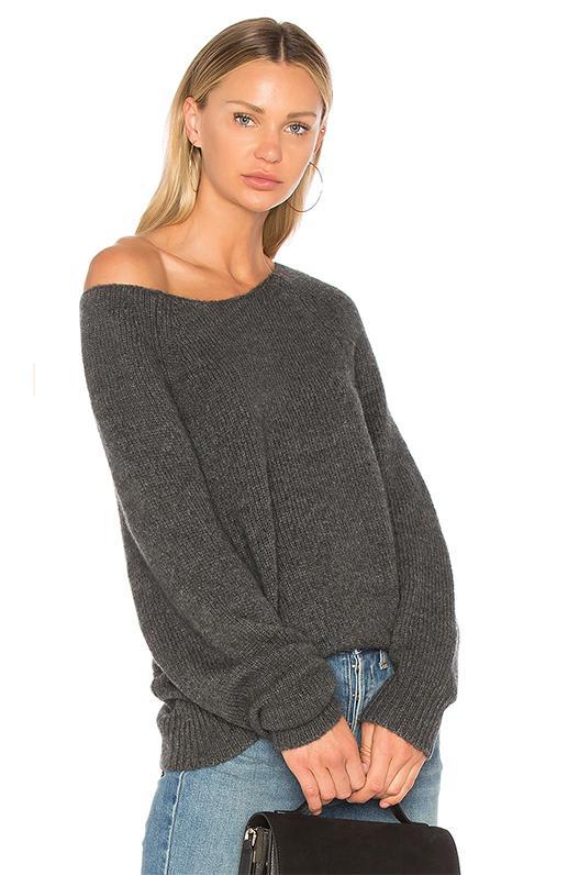 Casper Sweater in Gray. - size L (also in M,S,XS)