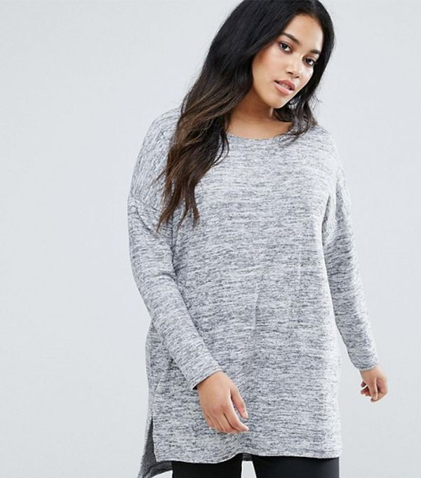 Fine Gauge Knit Sweater