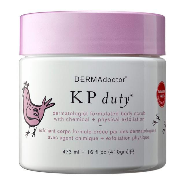 DERMAdoctor KP Duty Dermatologist Body Scrub with Chemical + Physical Medi-exfoliation - 16oz