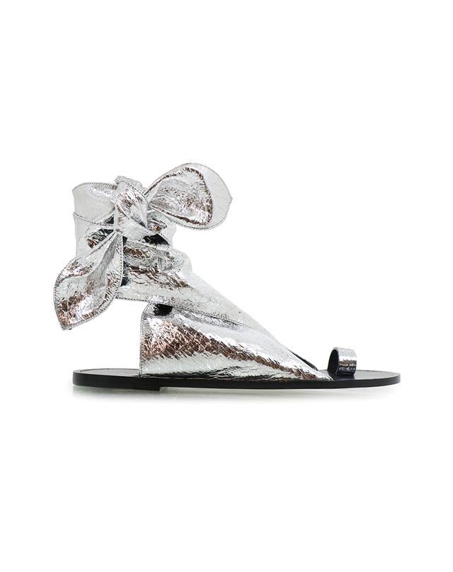 Isabel Marant Maheo Sandal in Silver