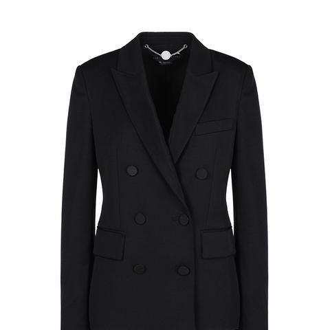 Black Tuxedo Karen Jacket
