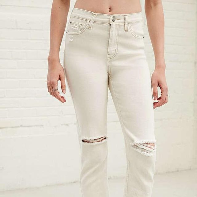 BDG Girlfriend High-Rise Jean in Pavement