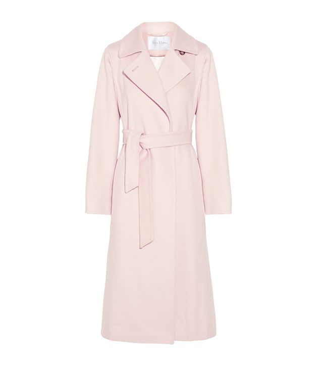 Rachel Green style: Max Mara Camel Hair Coat
