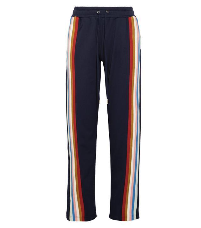 Rachel Green style: Alexachung Striped Jersey Track Pants