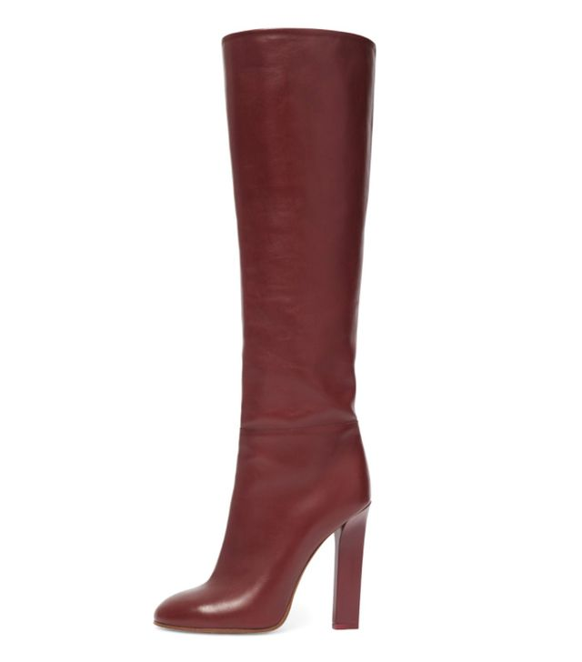 Victoria Beckham Autumn Winter 2017 style: red boots