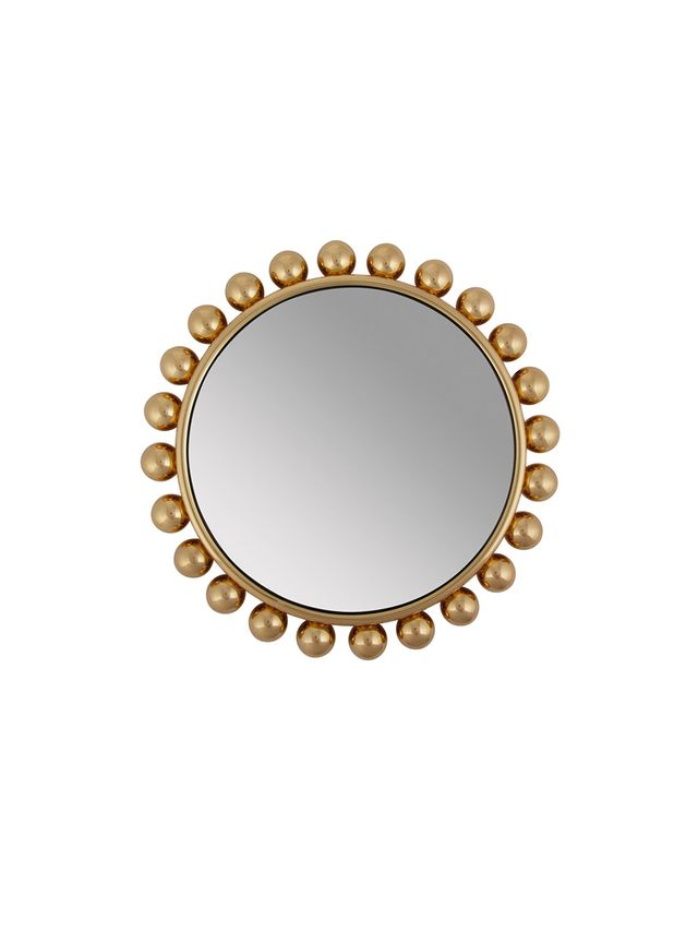 Fornasetti Collier Round Mirror