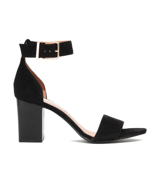 & Other Stories Almond Toe Suede Sandals