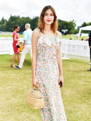 Alexa Chung Broke the #1 Wedding-Guest Dress Rule—and We Love Her for It