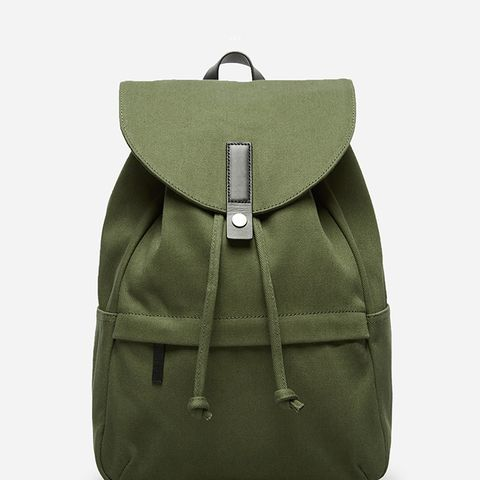 Women's Modern Twill Single Snap Backpack
