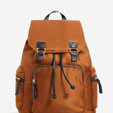 Satined Backpack