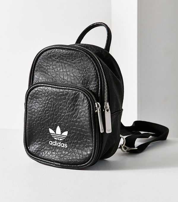 adidas Originals Classic Mini Backpack - Black One Size at Urban Outfitters