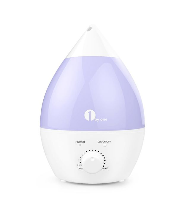 Best humidifier: 1 By One Ultrasonic Cool Mist Humidifier and Aroma Diffuser