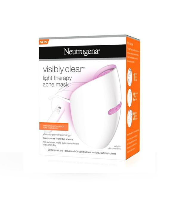 Best wellness technology: Neutrogena Visibly Clear Light Therapy Acne Mask