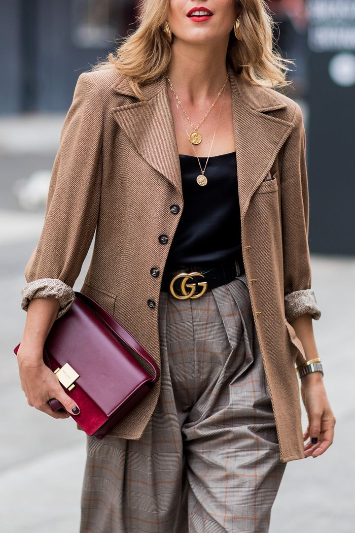 Gucci belts: Street style Gucci belt