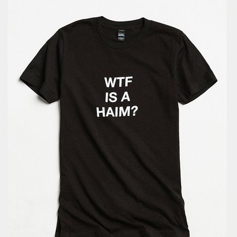 9 vintage concert tee outfits you haven 39 t tried whowhatwear ForWtf Is A Haim Shirt