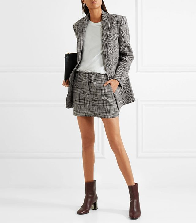 Aldridge Checked Wool-blend Tweed Blazer