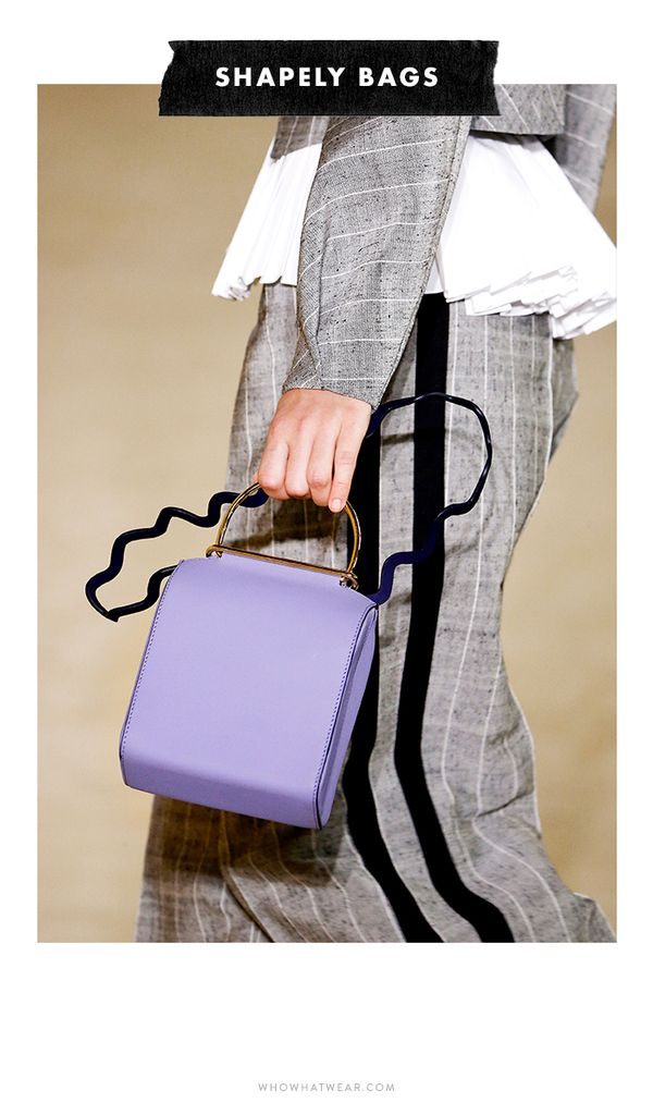 When it comes to accessories this season, the cooler the shape, the better. Designers finished off their looks with modern and architectural handbags that had everyone gawking. Stiff bucket bags,...