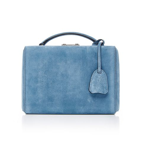 Grace Small Suede Box Bag