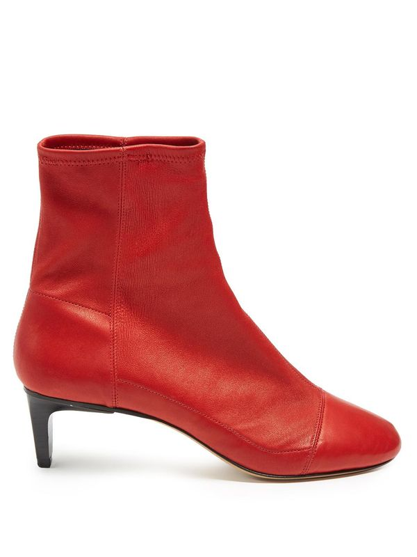 Daevel suede ankle boots