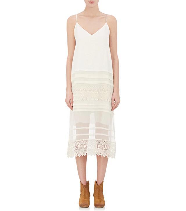 Women's Combo V-Neck Slip Dress