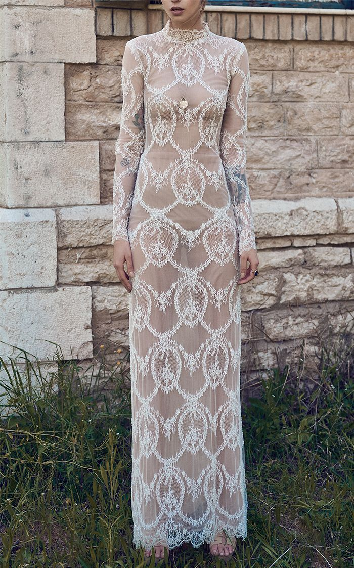 The Most Stunning See-Through Wedding Dresses | Who What Wear