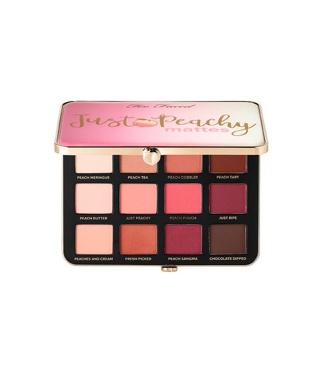 Too Faced Just Peachy Velvet Matte Eye Shadow Palette