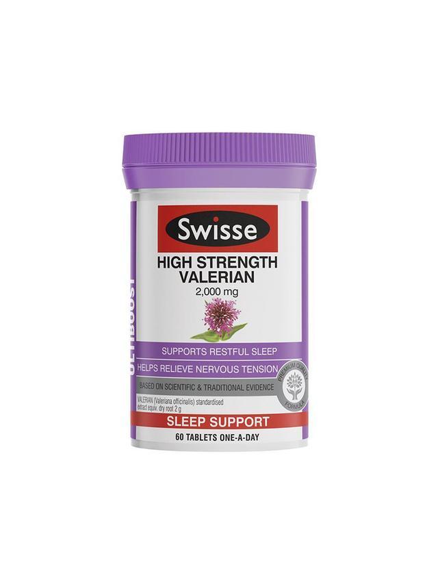 Best Sleep Product Swisse Ultiboost High Strength Valerian