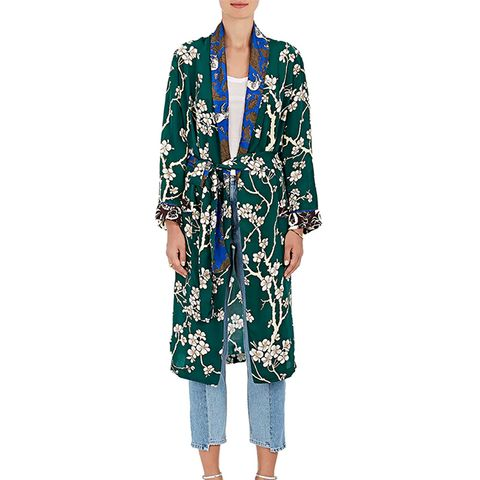 Dawnridge Floral Twill Robe