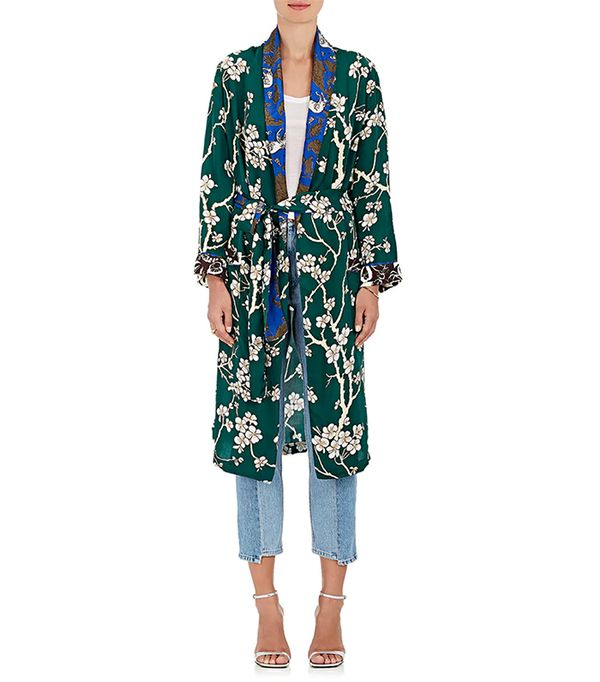 Women's Dawnridge Floral Twill Robe